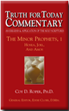 The Minor Prophets, 1: Hosea, Joel, and Amos Cover
